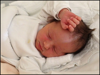 My daughter Ema, born January 16th 2012